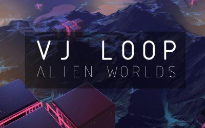 Vj Loop Alien Worlds
