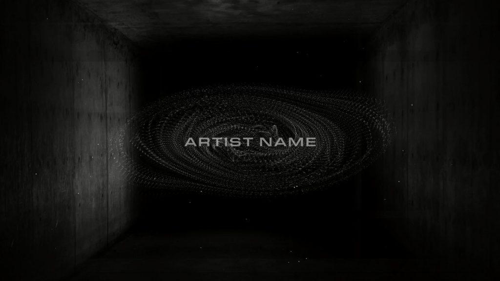 dj visuals particle room