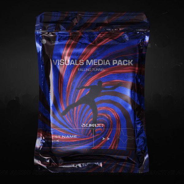 visuals media pack falling